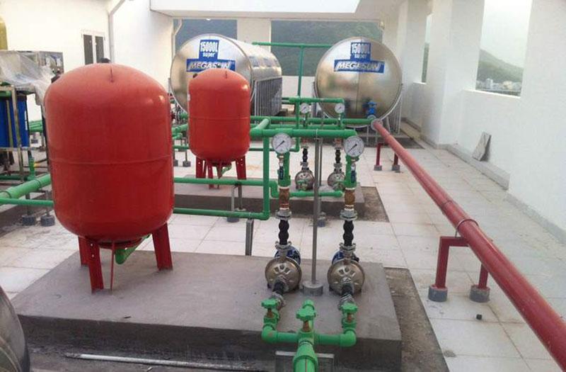 Bồn chứa nước nóng Megasun dung tích 1500 Lít
