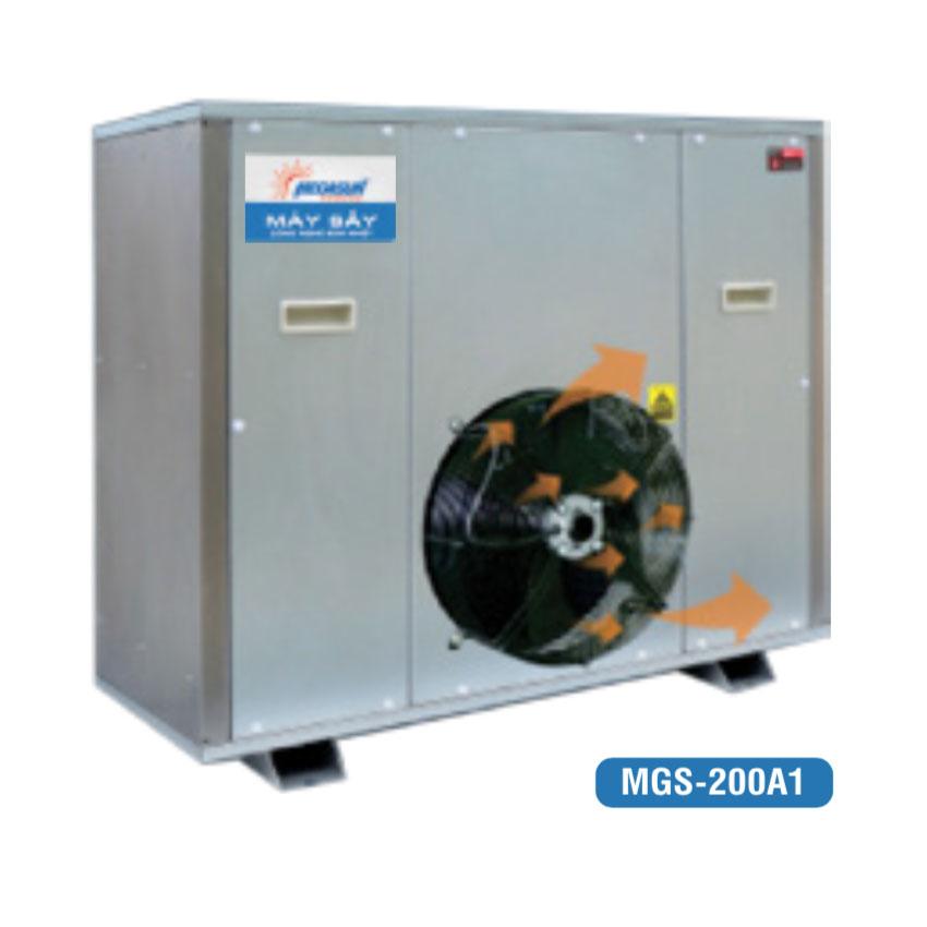 Máy sấy công nghiệp tích hợp bơm nhiệt MGS-200A1