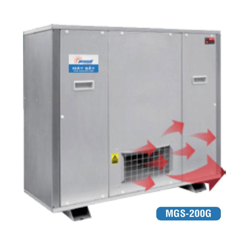 Máy sấy công nghiệp tích hợp bơm nhiệt MGS-200G